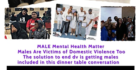 DVWMT MONTHLY MALE MENTAL HEALTH MATTERS TOO SUPPORT & RESOURCE ZOOM tickets