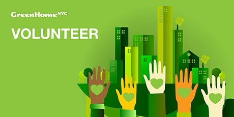 Volunteer with GreenHomeNYC tickets