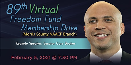 89TH NAACP MORRIS COUNTY  VIRTUAL FREEDOM FUND MEMBERSHIP DRIVE tickets