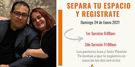 1er Servicio - 9:00am tickets
