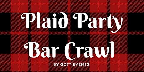 Plaid Party Bar Crawl tickets