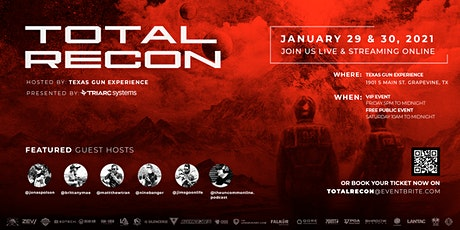 TOTAL RECON tickets