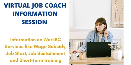 Job Coach Virtual Information Session - Feb 16 @ 11am tickets