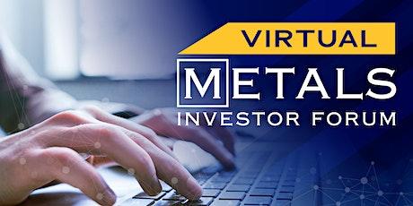 Virtual Metals Investor Forum | May 20, 2021 billets