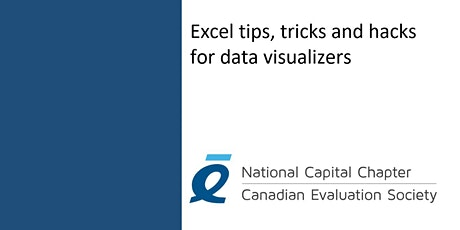 Excel Tips, Tricks and Hacks for Data Visualizers tickets