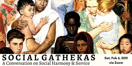 Social Gathekas: A Conversation on Social Harmony & Service tickets