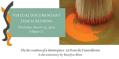 """La Prose du Transsibérien"" Documentary Screening & Artist Talk tickets"