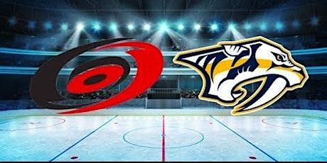 LIVE@!!..@ Carolina Hurricanes v Nashville Predators LIVE ON NHL 2021 tickets