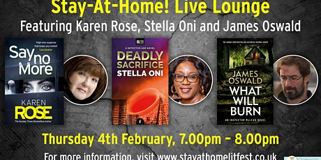 Stay-At-Home! Live Lounge featuring Karen Rose, Stella Oni and James Oswald tickets