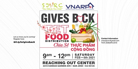 VNARP & SJVRC Gives Back: Tet Food Distribution tickets