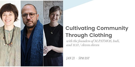 the co-lab panel: Cultivating Community Through Clothing tickets