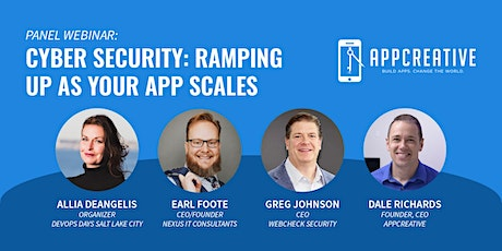 Cyber Security: Ramping Up As Your App Scales tickets