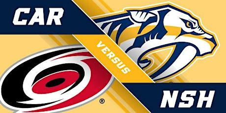 LIVE@!.MaTch Carolina Hurricanes v Nashville Predators LIVE ON NHL 2021 tickets