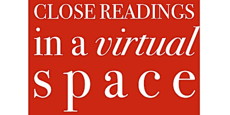 CLOSE READINGS IN A VIRTUAL SPACE: Edwin Torres tickets
