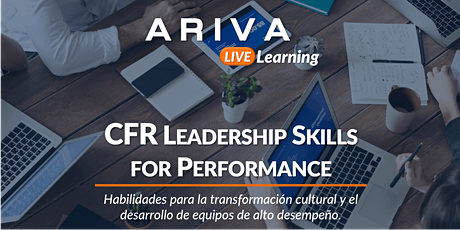 CFR Leadership Skills for Performance entradas