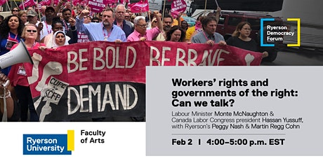 Workers' rights and governments of the right: Can we talk? tickets
