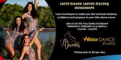 Latin Dance Ladies  Styling Workshops tickets