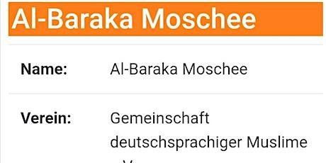Freitagsgebet 22.01.2021 in Moschee Al-Baraka in Pforzheim Tickets