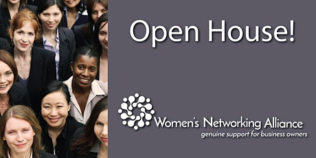 Women's Networking Alliance Open House - April 2021 tickets