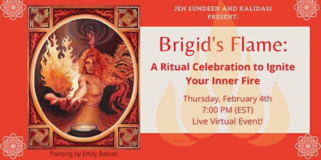 Brigid's Flame: A Ritual Celebration to Ignite Your Inner Fire tickets