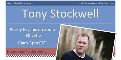 Tony Stockwell, Psychic & Psychic Detective Workshop tickets