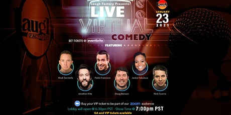 Laugh Factory's LIVE Comedy with Jackie Fabulous  and Pablo Francisco tickets