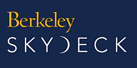Berkeley SkyDeck Global  Acceleration Program Webinar tickets