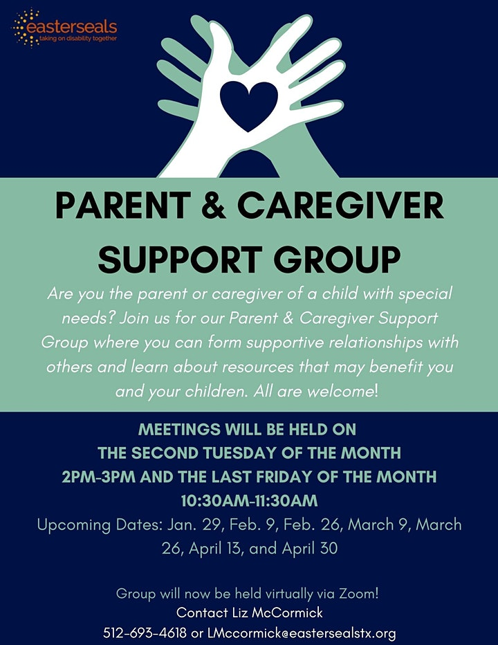 Parent & Caregiver Support Group image
