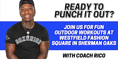 BoxUnion Outdoor Class w/ Coach Rico tickets