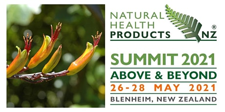 Natural Health Products NZ - Summit 2021 tickets