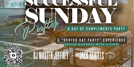 Successful Sunday Rooftop Heated Day Party w/ DJ Master Jeffrey tickets