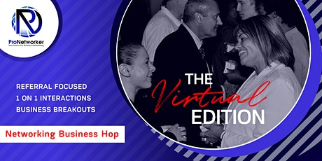 Virtual: Networking Business Hop tickets