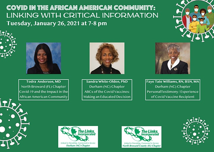 COVID in the African American Community: Linking with Critical Information image