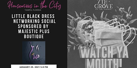 Little Black Dress Networking Social Sponsored by Majestic Plus Boutique tickets