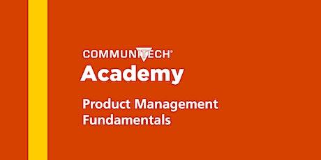 Communitech Academy: Product Management Fundamentals - Fall 2021 tickets