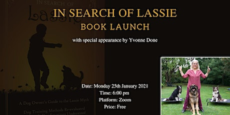 In Search Of Lassie Book Launch tickets