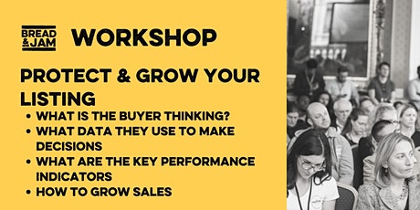 Workshop: Protecting and Growing your Listing tickets