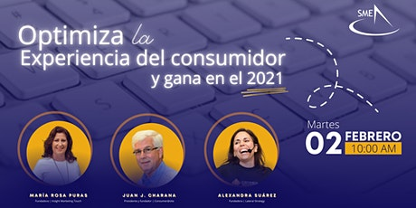 SME Webinar: Optimiza la experiencia del consumidor y gana en el 2021 entradas