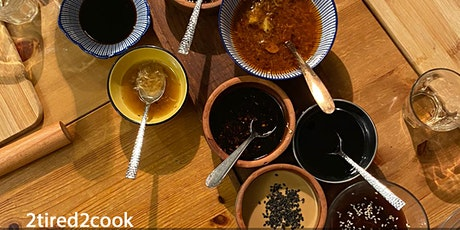 Authentic Asian sauces, oils and condiments tickets