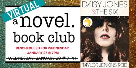 A Novel Book Club: Daisy Jones & The Six tickets