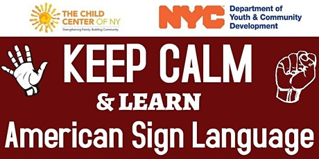 Learn American Sign Language for FREE! tickets