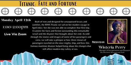 Titanic: Fate and Fortune tickets