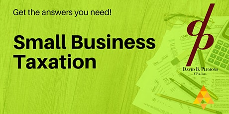 Small Business Taxation, Mentor Rounds tickets
