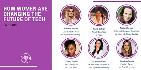 How Women Are Changing The Future of Tech | Live Panel tickets