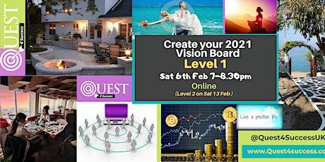 Online Vision Board Workshop Level 1 tickets