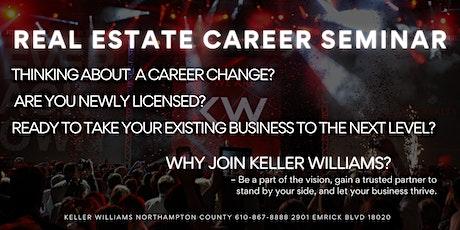 Keller Williams Northampton County Career Seminar tickets