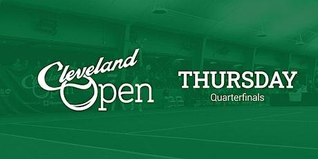 Cleveland Open—Quarterfinals tickets