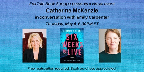 Catherine McKenzie in conversation with Emily Carpenter Virtual tickets