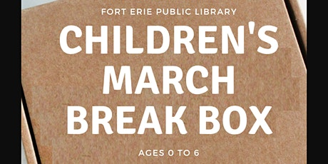 March Break Kits -  Children Ages 0-6 tickets