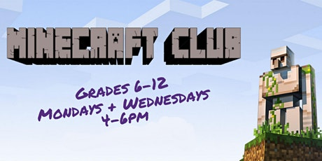 Virtual Minecraft Club tickets